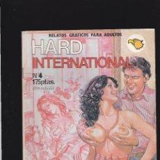 Cómics: HARD INTERNATIONAL - Nº 4 DE 31 - MAS PENES PARA LA ESTRLLA - COMIC EROTICO PARA ADULTOS - ASTRI -. Lote 207141307