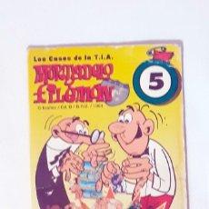 Cómics: LOS CASOS DE LA T. I. A. MORTADELO Y FILEMÓN, Nº5. TOSTA RICA. GALLETAS CUÉTARA. 1994. Lote 209274525