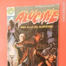Comics: ALUCINE , MAS ALLA DEL SUSPENSE Nº 3 EL MUSEO DEL HORROR - BRUGUERA 1984. Lote 213801528