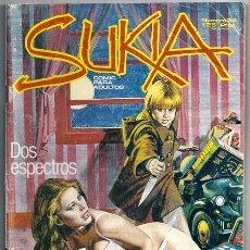 Cómics: SUKIA, 34: DOS ESPECTROS | CAMPAMENTO NUDISTA - ZINCO, 05/1986. Lote 216816376