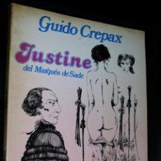 Cómics: JUSTINE DEL MARQUES DE SADE (DE GUIDO CREPAX), COLECCIÓN FETICHE COLOR TOMO Nº02. Lote 218132902