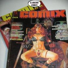 Cómics: COMIX INTERNACIONAL, COLECCIÓN COMPLETA CON DEN SAGA Y POSTER DE CORBEN, 6 NÚMEROS, ED. ZINCO,. Lote 218840857