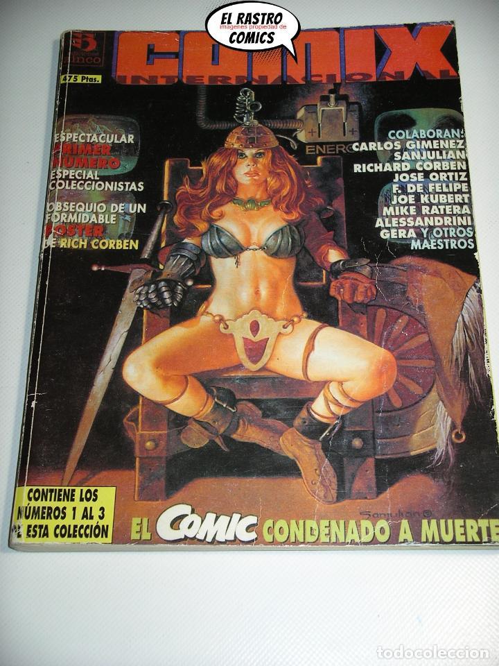 Cómics: Comix Internacional, Colección completa con Den Saga y poster de Corben, 6 números, ed. Zinco, - Foto 3 - 218840857