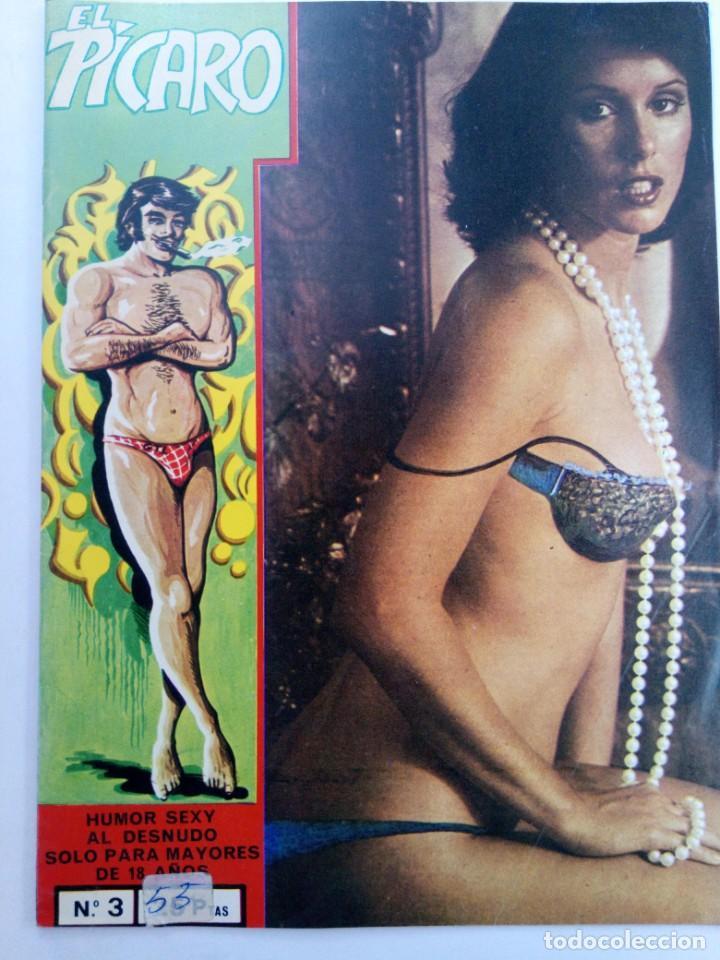 EL PÍCARO Nº 3 - EDICIONES PETRONIO (Coleccionismo para Adultos - Comics)