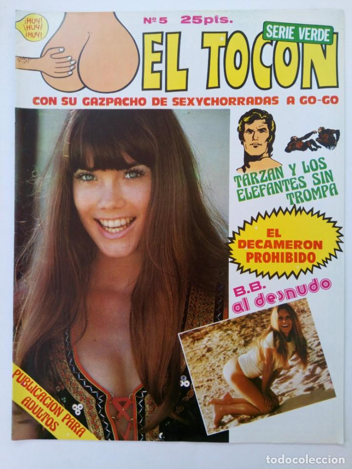 EL TOCÓN Nº 5 - EDITORIAL MIRASIERRA (SIN USAR, DE DISTRIBUIDORA) (Coleccionismo para Adultos - Comics)