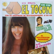 Cómics: EL TOCÓN Nº 5 - EDITORIAL MIRASIERRA (SIN USAR, DE DISTRIBUIDORA). Lote 221390086