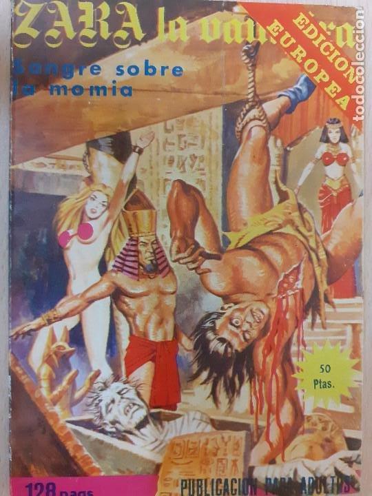 ZARA LA VAMPIRA Nº 30. SANGRE SOBRE LA MOMIA. ELVIBERIA 1976 (Coleccionismo para Adultos - Comics)