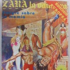 Comics: ZARA LA VAMPIRA Nº 30. SANGRE SOBRE LA MOMIA. ELVIBERIA 1976. Lote 223021880