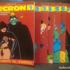 Cómics: EDICIONES LA CUPULA NECRON - COLE COMPLETA. 7 NºS COMIC SPAIN 1987 PEPETO TOP. Lote 223872036