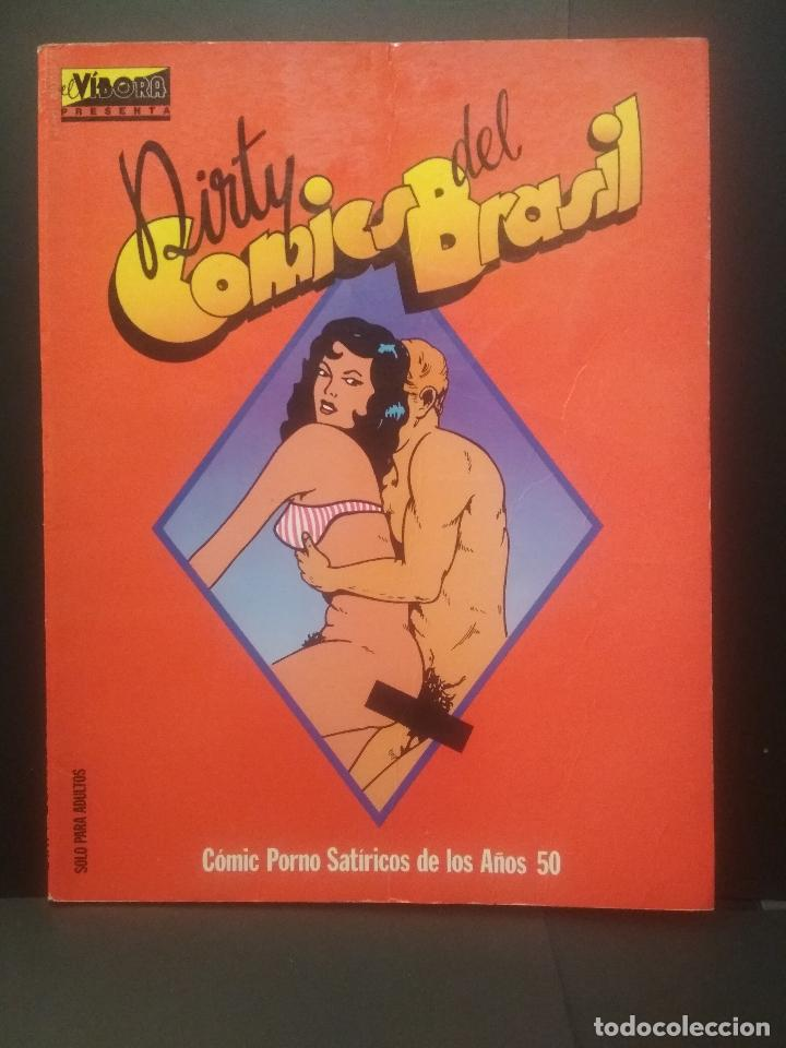 Cómics: EDICIONES LA CUPULA DIRTY COMICS.,1,2,3 + BRASIL COMIC SPAIN PEPETO TOP - Foto 2 - 223872217