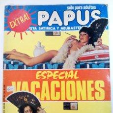 Cómics: PAPUS AÑO VII Nº 271 - 28 DE JULIO 1979 - ESPECIAL VACACIONES (SIN USAR, DE DISTRIBUIDORA). Lote 225156031