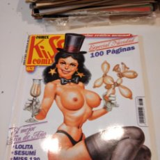 Cómics: G-64 REVISTA LOTE DE 16 REVISTAS COMIX KISS COMIX MAGAZINE EROTICO MENSUAL. Lote 232529800