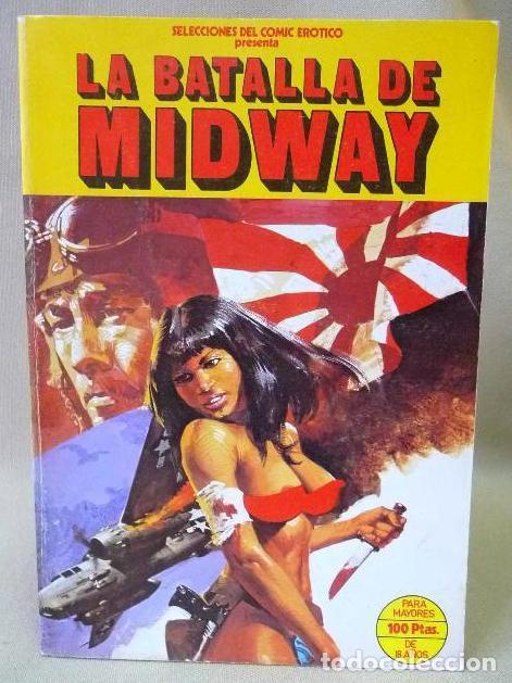 LA BATALLA DE MIDWAY - COMIC EROTICO - AÑO 1977 (Coleccionismo para Adultos - Comics)