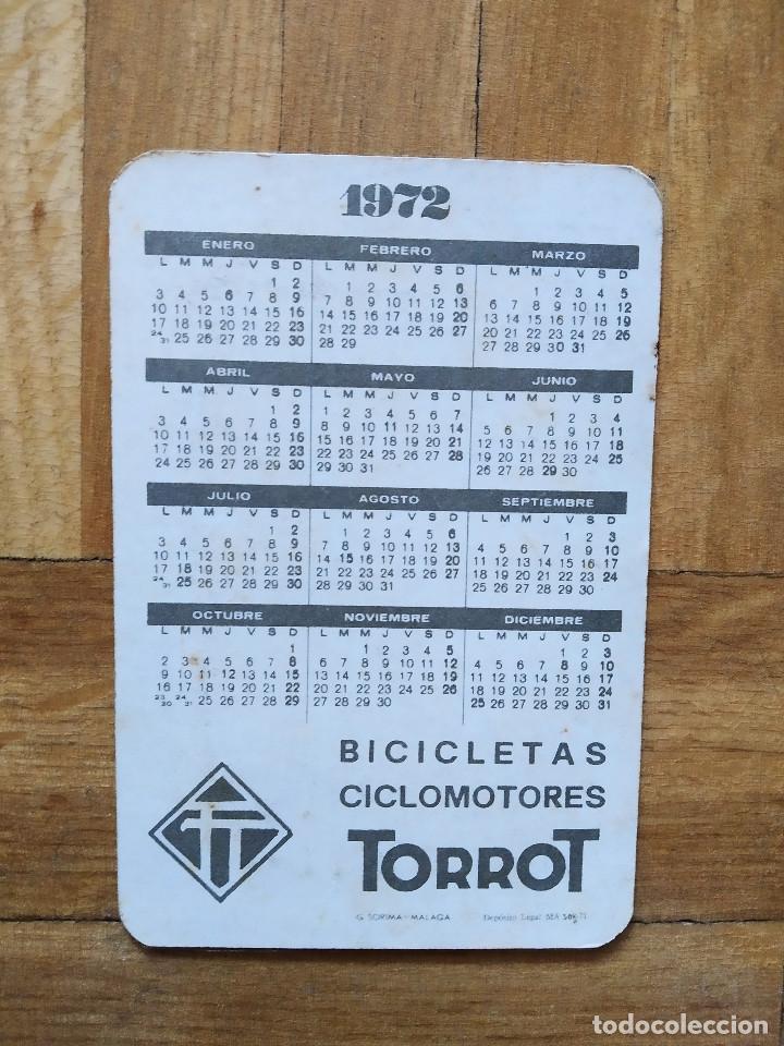 Cómics: CALENDARIO PUBLICITARIO. CHICAS EROTICA. BICICLETAS Y CICLOMOTORES TORROT AÑO 1972 - Foto 2 - 235511800
