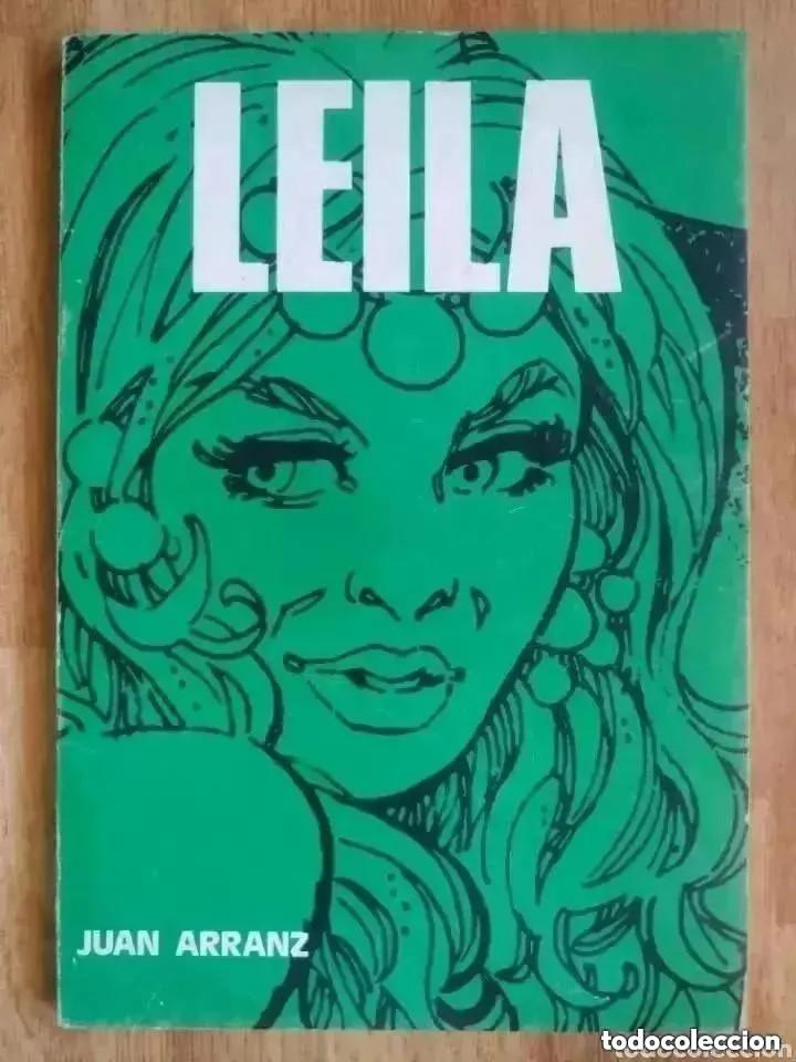 LEILA (JUAN ARRANZ) (Coleccionismo para Adultos - Comics)