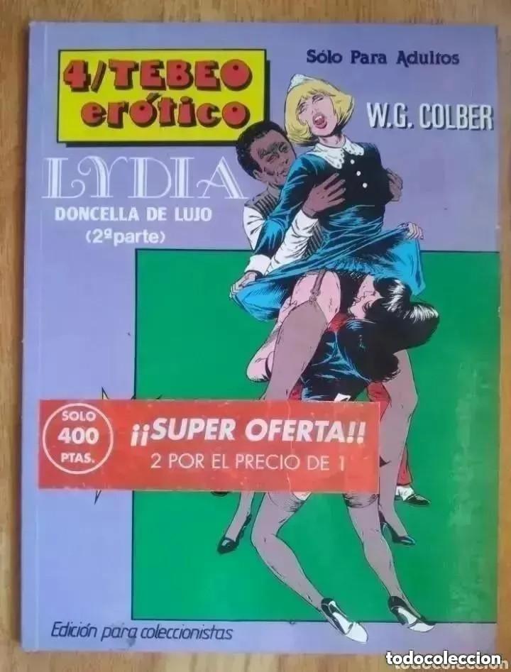 4º TEBEO EROTICO LYDIA DONCELLA DE LUJO 2º PARTE (Coleccionismo para Adultos - Comics)