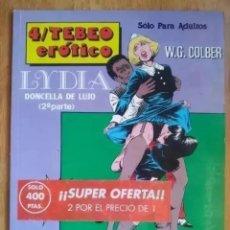 Cómics: 4º TEBEO EROTICO LYDIA DONCELLA DE LUJO 2º PARTE. Lote 236020620