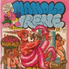 Comics: MANOLO E IRENE Nº 11 - COMIC PARA ADULTOS. Lote 239976520