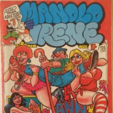 Comics: MANOLO E IRENE Nº 7 - COMIC PARA ADULTOS. Lote 239987470