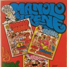 Comics: MANOLO E IRENE - ALBUM CON LOS NROS. 4, 5 Y 6 - COMIC PARA ADULTOS. Lote 239996855