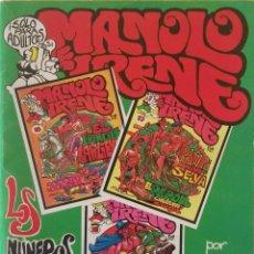 Comics: MANOLO E IRENE - ALBUM CON LOS NROS. 16, 17 Y 18 - COMIC PARA ADULTOS. Lote 239997675