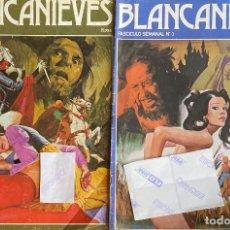 Cómics: LOTE DE 2 COMIC DE BLANCANIEVES EROTICO PORNO AQUITIENESLOQUEBUSCA ALMERIA. Lote 242994510