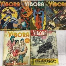 Cómics: PACK 9 COMICS EL VIVORA + 1 COMIC MARIA LANUIT. Lote 243537525