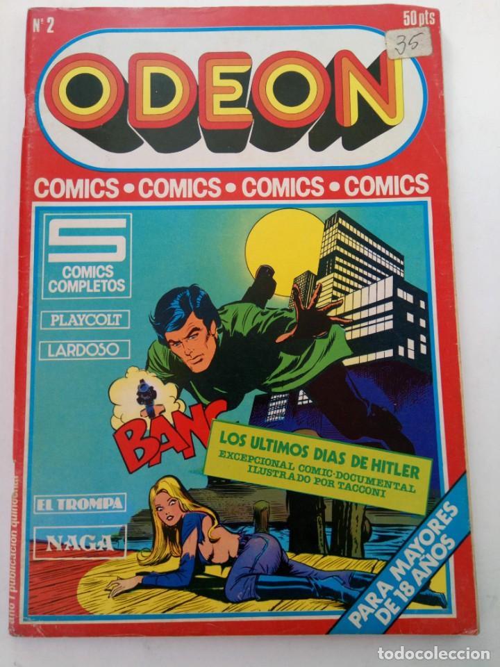 ODEON Nº 2 - EDICIONES ACTUALES 1977 (Coleccionismo para Adultos - Comics)