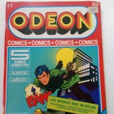 Cómics: ODEON Nº 2 - EDICIONES ACTUALES 1977. Lote 245179510