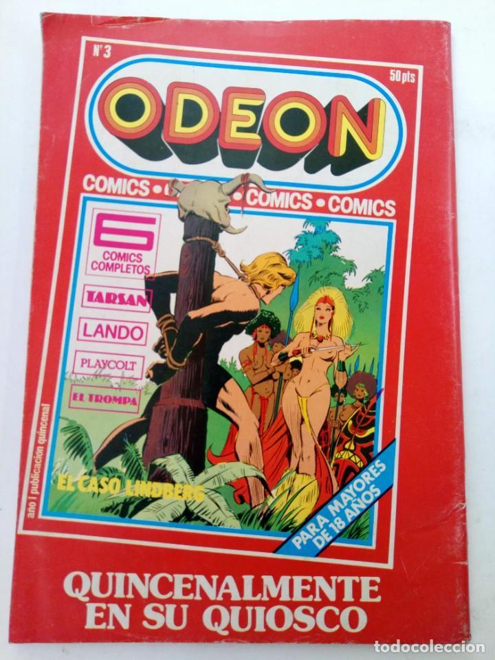 Cómics: ODEON Nº 2 - EDICIONES ACTUALES 1977 - Foto 2 - 245179510
