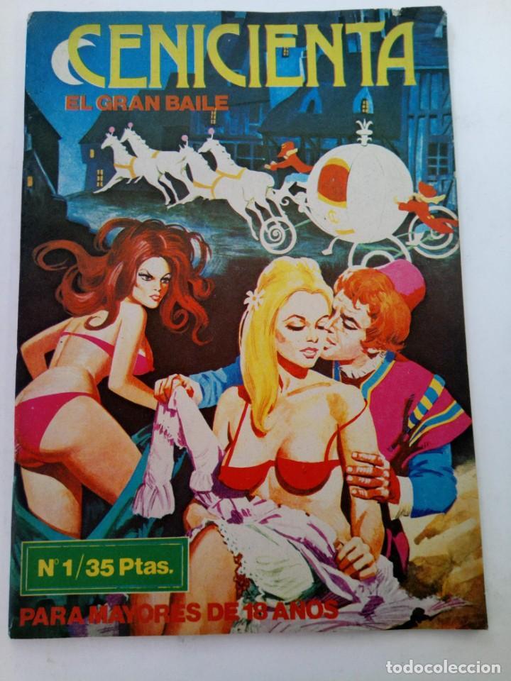 CENICIENTA Nº 1 - EL GRAN BAILE - EDICIONES ACTUALES (Coleccionismo para Adultos - Comics)