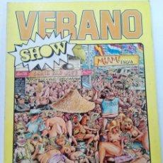 Cómics: VERANO SHOW - SOLO PARA ADULTOS - EDICIONES CUMBRE. Lote 245180150