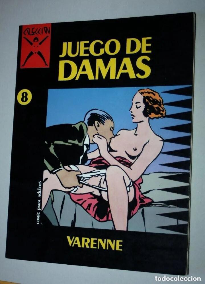 COMIC PARA ADULTOS: COLECCIÓN X, Nº 08 : JUEGO DE DAMAS.( VARENNE) (Coleccionismo para Adultos - Comics)