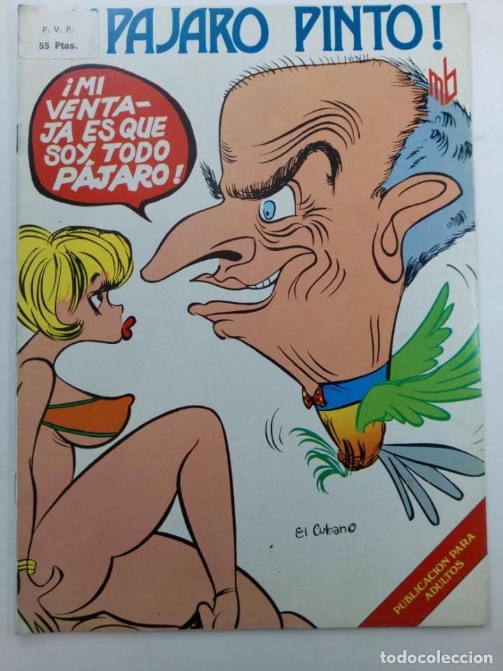 ¡PÁJARO PINTO! - MARC BEN (Coleccionismo para Adultos - Comics)