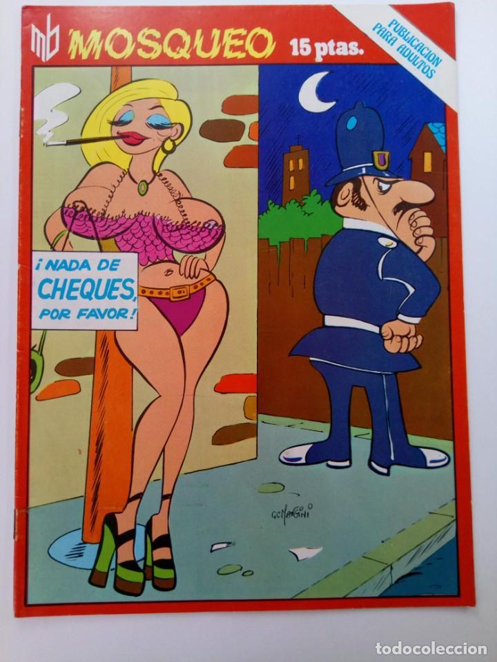 MOSQUEO - EDICIONES MARC BEN (SIN USAR, DE DISTRIBUIDORA) (Coleccionismo para Adultos - Comics)
