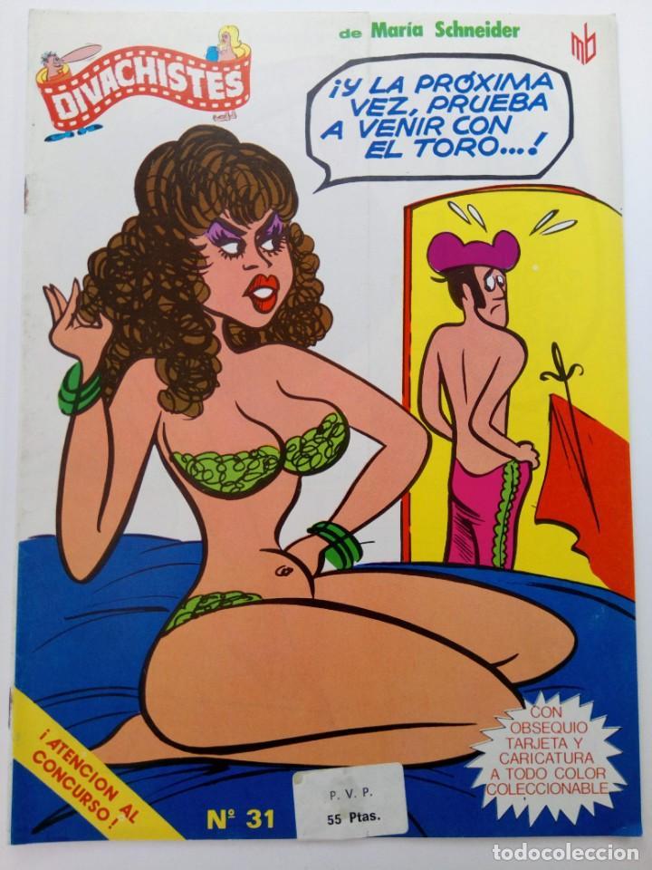 DIVACHISTES Nº 31 (SIN USAR, DE DISTRIBUIDORA) (Coleccionismo para Adultos - Comics)