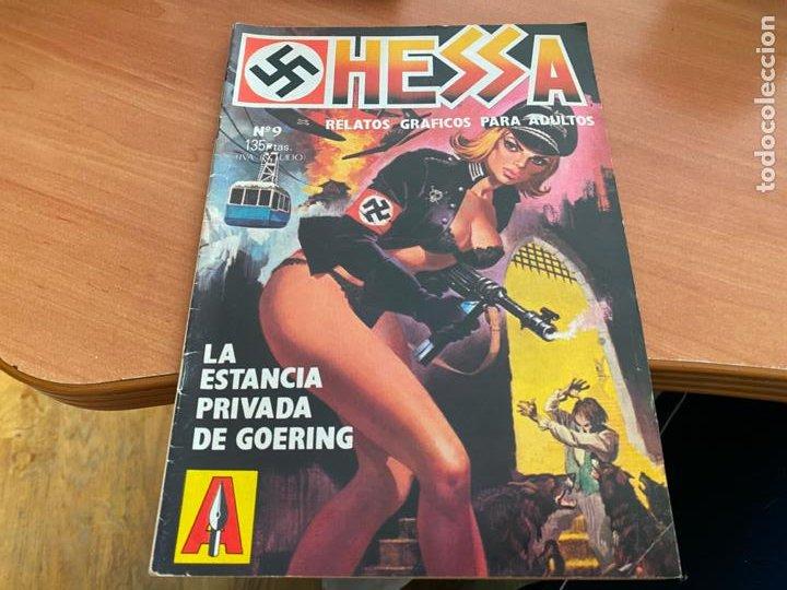 HESSA Nº 9 RELATOS GRAFICOS PARA DULTOS (ED. ASTRI) (COIB198) (Coleccionismo para Adultos - Comics)