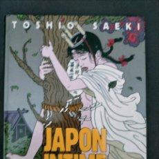 Cómics: RARO TOSHIO SAEKI JAPON INTIME ALBIN MICHEL EROTICO 1990 1 ED TAPA DURA. Lote 245936655