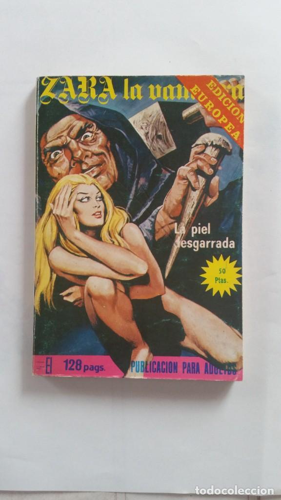 TEBEO ADULTOS ZARA LA VAPIRA LA PIEL DESGARRADA (Coleccionismo para Adultos - Comics)