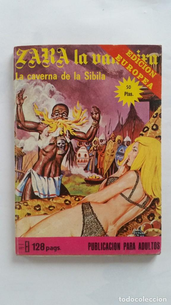 TEBEO ADULTOS ZARA LA VAMPIRA LA CAVERNA DE LA SIBILA (Coleccionismo para Adultos - Comics)