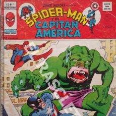 Cómics: SPIDER-MAN Y EL CAPITAN AMERICA - PELIGRO : UN DEMONIO ANDA SUELTO - Nº 71. Lote 252501820