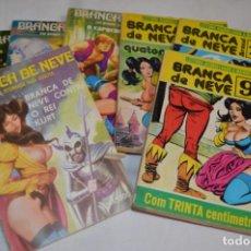 Cómics: BRANCA DE NEVE / 8 EJEMPLARES COMICS ERÓTICO / FINALES AÑOS 70 - PORTUGAL -- ¡MIRA FOTOS/DETALLES!. Lote 252547210