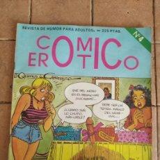 Fumetti: COMIC EROTICO - Nº 4 - AÑOS 80 - EDITORIAL IRU - COMICS PARA ADULTOS. Lote 254714400