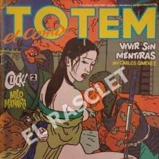 Cómics: COMIC ADULTOS TOTEM - VIVIR SIN MENTIRAS - Nº 62. Lote 254765430