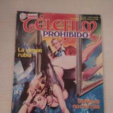 Cómics: 49064 - CELEFILM PROHIBIDO - LA RUBIA VIRGEN - Nº 15 - EDICIONES ZINCO - COMIC PARA ADULTOS - 1985. Lote 262201640