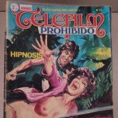 Cómics: 49065 - CELEFILM PROHIBIDO - HIPNOSIS - Nº 33 - EDICIONES ZINCO - COMIC PARA ADULTOS - 1987. Lote 262201810