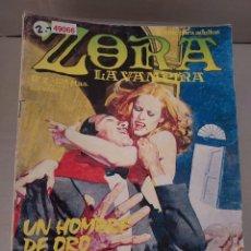 Cómics: 49066 - ZORA LA VAMPIRA - UN HOMBRE DE ORO - Nº 2 - EDICIONES ZINCO - COMIC PARA ADULTOS - AÑO 1986. Lote 262202165