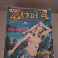 Cómics: 49067 - ZORA LA VAMPIRA - RASPUTIN - Nº 4 - EDICIONES ZINCO - COMIC PARA ADULTOS - AÑO 1986. Lote 262202275