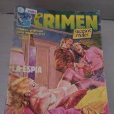 Cómics: 49069 - CRIMEN - LA ESPIA - EL AMIGO DE LA INFANCIA - Nº 52 - EDICIONES ZINCO. Lote 262202795