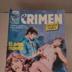 Cómics: 49072 - CRIMEN - EL PESO MUERTO - MERCADERES DE CARNE - Nº 42 - EDICIONES ZINCO. Lote 262203820